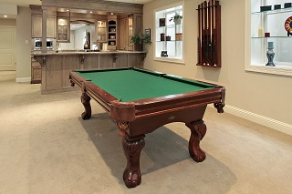 pool table room sizes in kansas city content
