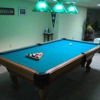 Vintage Olhausen Pool Table