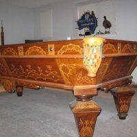 1870's. Brunswick Pool Table