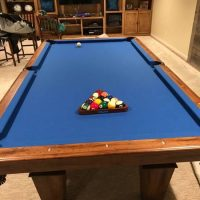 8ft. Pool Table With Ping Pong