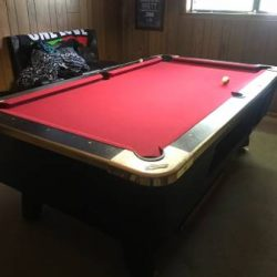 Dynamo 8ft 1 pc Slate Pool Table