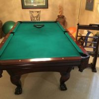 Beautiful Pool Table in Pristine Conditions (SOLD)