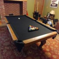 Golden West Billiad Table