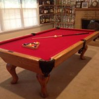 Custom Golden West Pool Table and Accessories