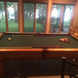 Goldenwest Pool Table with ping pong top