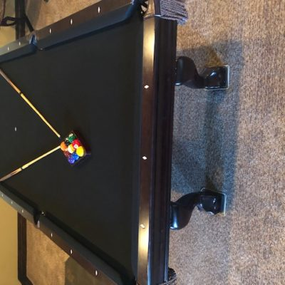"8' Brunswick ""Contender"" Pool Table"